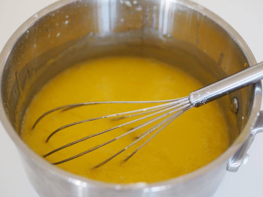 Sitruunaruutujen täyte